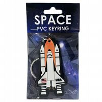 Space PVC Keyring – Space Shuttle